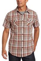Dakota Grizzly Men's Dixon Short Sleeve Gingham Shirt