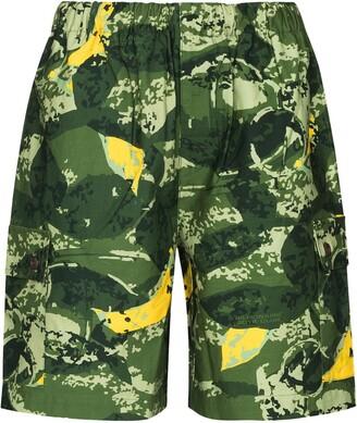 Billionaire Boys Club Camouflage-Print Shorts