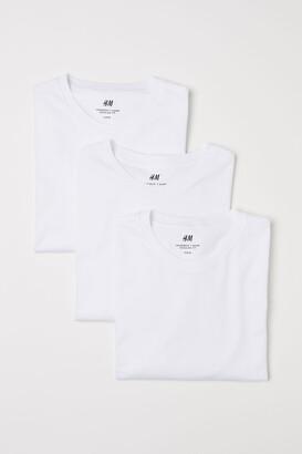 H&M 3-pack Regular Fit T-shirts