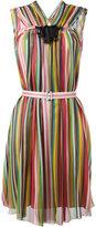 No.21 striped dress - women - Silk - 42