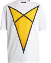 Raf Simons American-fit Arrow-print cotton T-shirt
