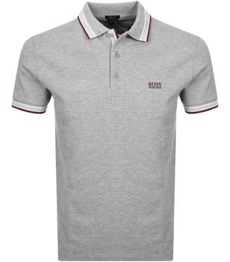 Boss Athleisure BOSS Athleisure Paddy Polo T Shirt Grey