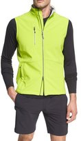 Peter Millar Crown Sport Juneau Soft-Shell Vest, Lime