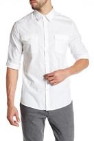 Kenneth Cole New York Long Sleeve Stretch Militia Shirt