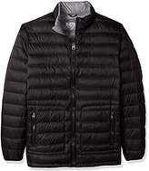Buffalo David Bitton by David Bitton Men's Big and Tall B&T Packable Down Puffer Jacket