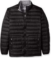 Buffalo David Bitton Men's Big and Tall B&t Packable Down Puffer Jacket