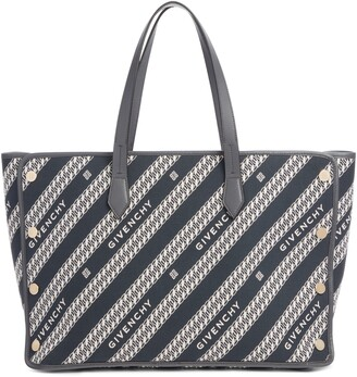 Givenchy Medium Bond Chain Canvas Tote
