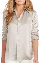 Polo Ralph Lauren Silk Long Sleeve Shirt