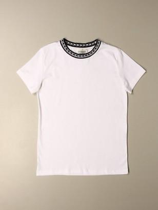 LES COYOTES DE PARIS T-shirt With Logoed Crew Neck