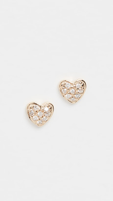 Sydney Evan Tiny Heart Studs