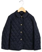 Burberry Girls' Quilted Lightweight Coat