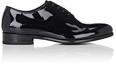 Barneys New York Men's Patent Leather Balmorals - Black