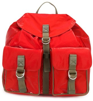 Mr & Mrs Italy Buckled Strap Backpack