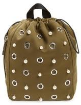 3.1 Phillip Lim Phillip Lim Medium Go-Go Embellished Backpack - Green