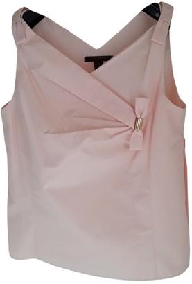 Louis Vuitton Pink Cotton Top for Women