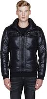 Diesel Black Quilted Wanton Jacket