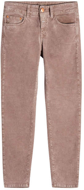 Closed Cropped Velvet Jeans