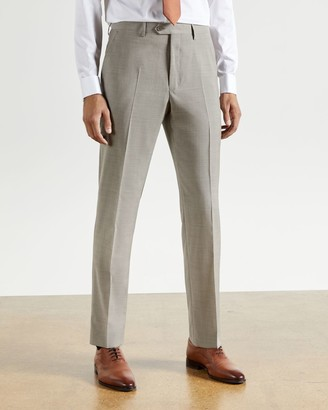Ted Baker Plain Wool Modern Fit Trousers