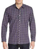 Jared Lang Plaid Cotton Sportshirt