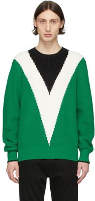 Rag & Bone Green Emory Sweater