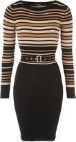 Jane Norman Multicoloured Belted Jumper Dress