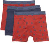 Lucky Brand Men's Cotton Boxer Briefs (3 PK)