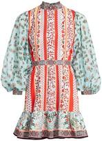 Alice + Olivia Raya Floral Mini Dress
