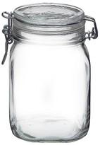 Bormioli Fido 1 Liter Clamp Jar - Clear