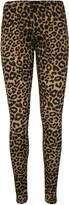 WearAll Women's Leopard Print Leggings - US 8-10 (UK 12-14)