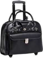 McKlein Edgebrook Italian Leather Laptop Case