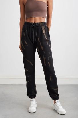 Pam & Gela 100% Cotton Dark Bleach Gym Sweatpant