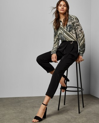 Ted Baker AISIMA Wrap front belted pants