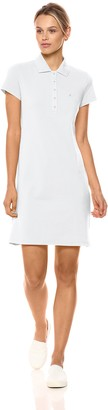Nautica Women's Short Sleeve Stretch Polo Dress Casual