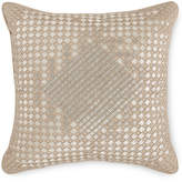 """Hotel Collection Dimensions Champagne 16"""" x 16"""" Decorative Pillow, Created for Macy's"""