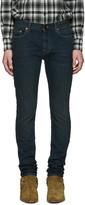 Saint Laurent Indigo Original Low Waisted Skinny Jeans