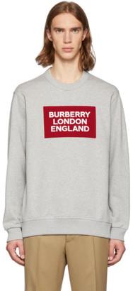 Burberry Grey Fawson Sweatshirt