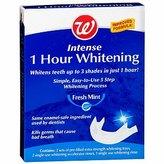 Walgreens Intense 1 Hour Whitening System, Fresh Mint