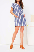 Tularosa Indigo Stripe Warren Tunic