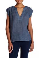 Sundry Popover Sleeveless Shirt