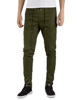 Italy Morn Men Chino Cargo Jogger Pants Casual Sweatpants Twill Khakis Slim fit XL