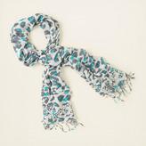 Children's Place Leopard-print scarf