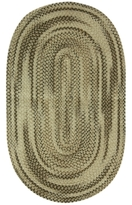 "Bacova Rugs, Chenille Oval 24"" x 40"" Accent Rug"