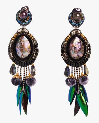 Ranjana Khan Stella Clip-On Earrings