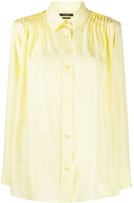 Isabel Marant Pleated-Shoulder Shirt