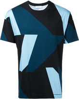 Cerruti colour block T-shirt