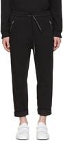 3.1 Phillip Lim Black Tapered Lounge Pants