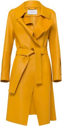 Dorothee Schumacher Modern Volumes Veggie Tan Leather Jacket