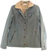 Sandro Blue Denim - Jeans Leather jackets