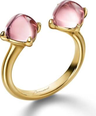 Baccarat Mini Medicis Toi & Moi Ring Size 55