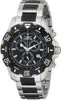 Invicta Men's 6407 Python Collection Chronograph Stainless Steel and Gun Metal Watch